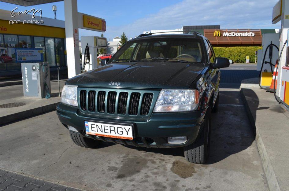 Jeep Cherokee 4.7 2000r - instalacja gazowa Stag