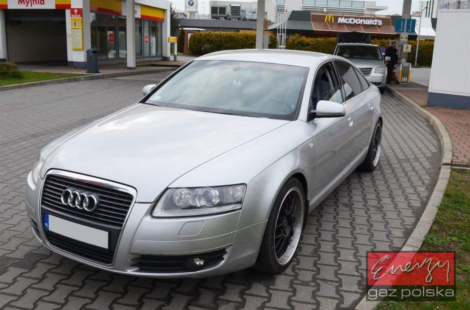 Audi A6 2.4 177KM 2005r LPG