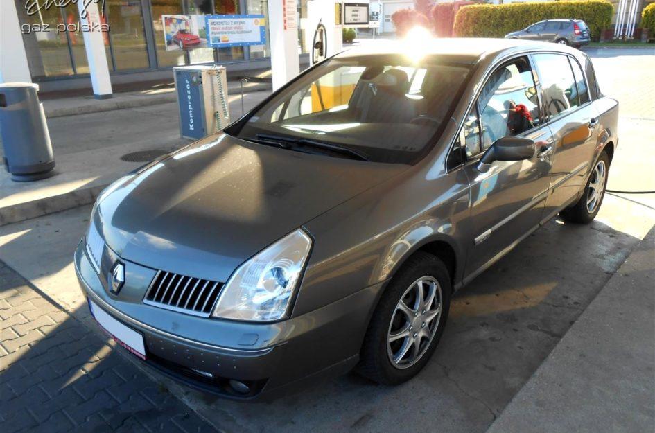 Renault Vel Satis 2.0T 2004r LPG