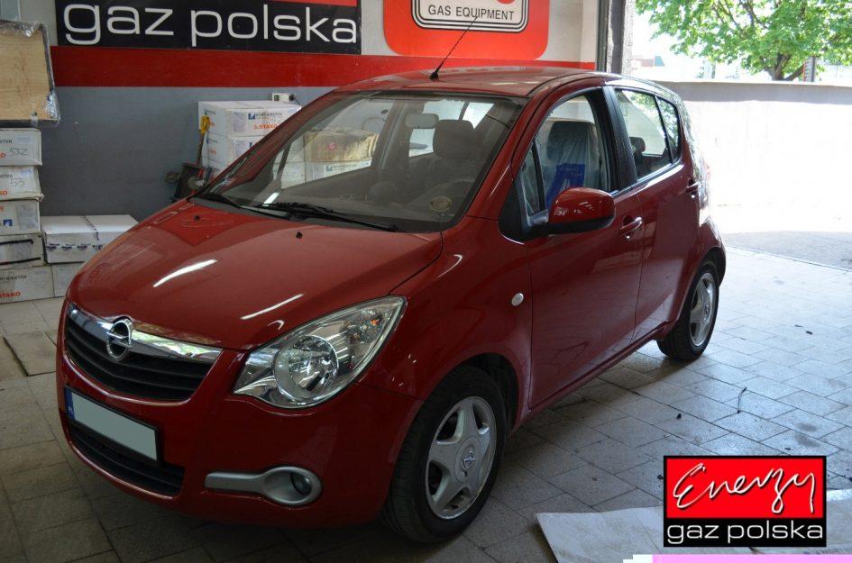 Opel Agila 1.0 65KM 2011r LPG