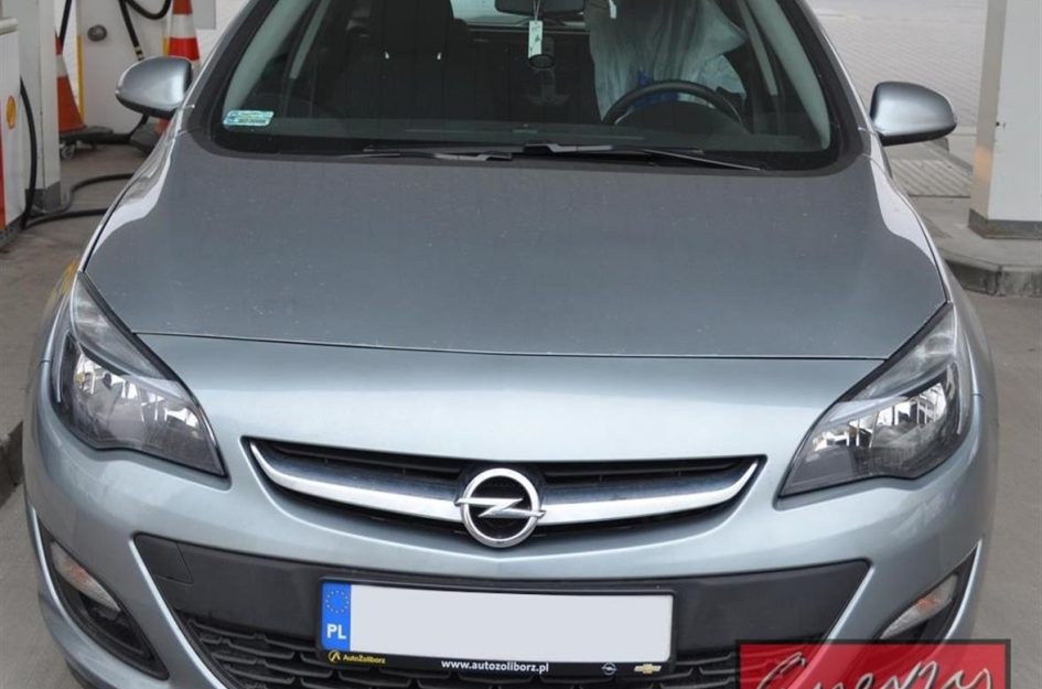 Opel Astra 1.4T 2014r LPG
