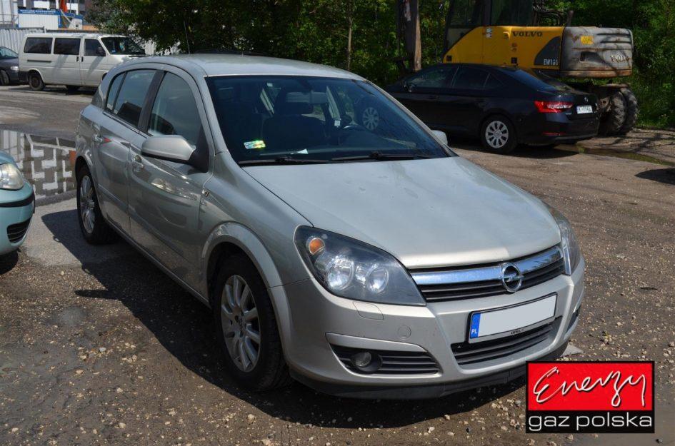 Opel Astra 1.6 105KM 2005r LPG