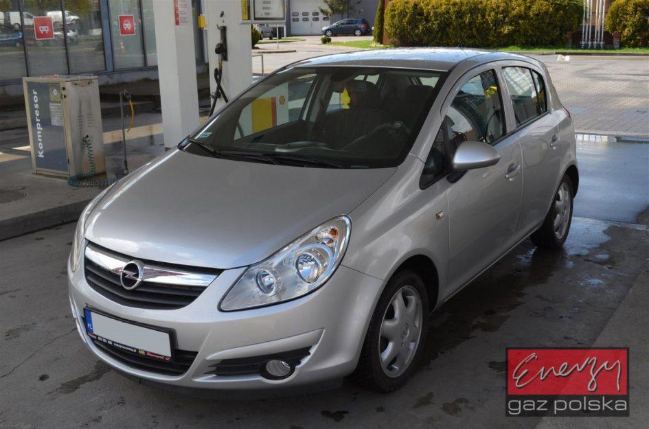 Opel Corsa 1.2 80KM 2009r LPG