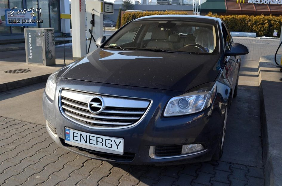Opel Insignia 2.0T 2009r LPG