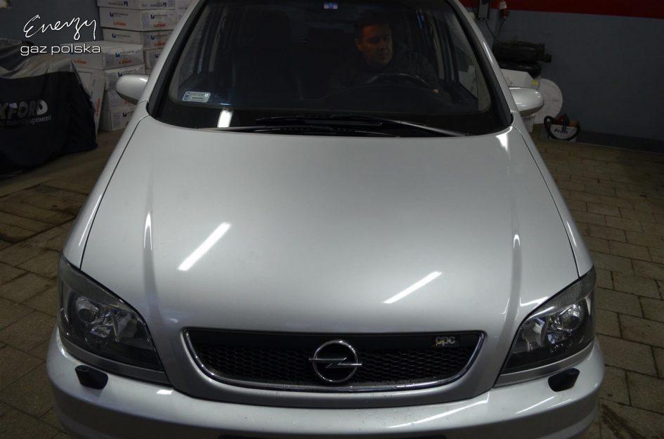 Opel Zafira 2.0T 2003r LPG