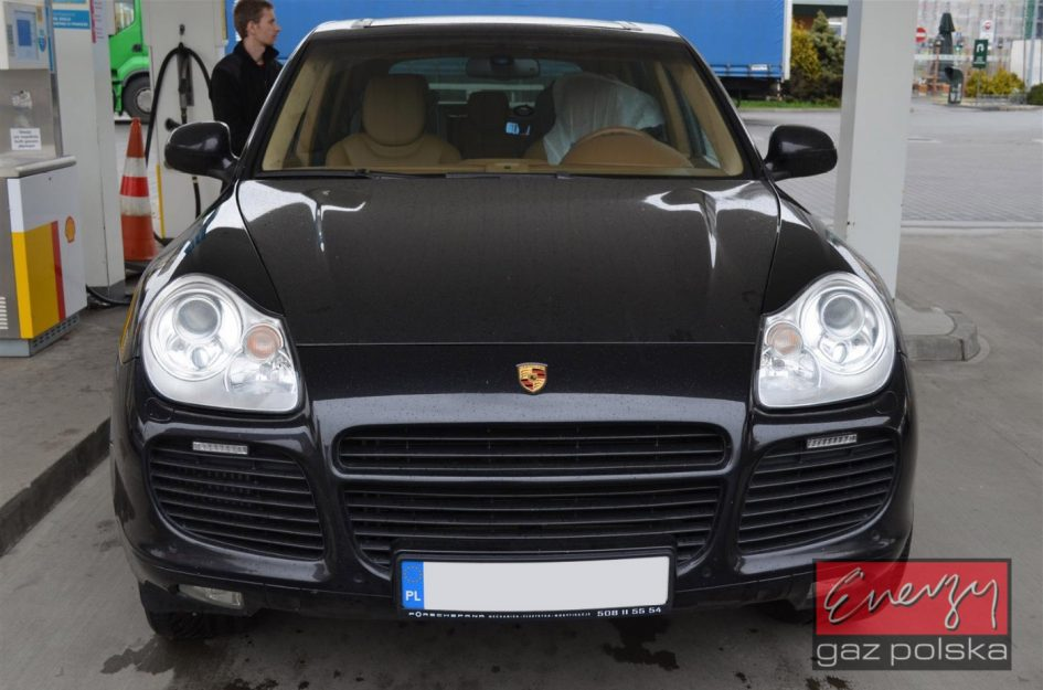 Porsche Cayenne 4.5 521KM 2006r LPG