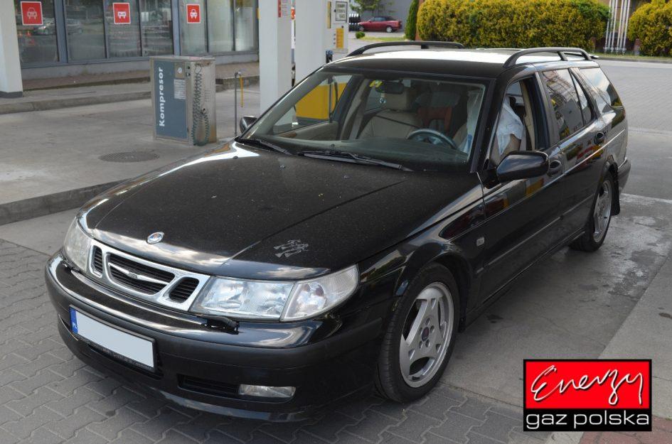 Saab 9-5 2.3T 230KM 2000r LPG