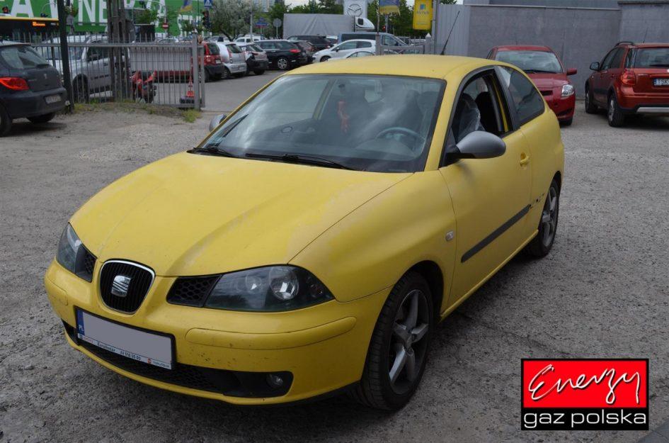 Seat Ibiza 1.8T 200KM 2004r LPG