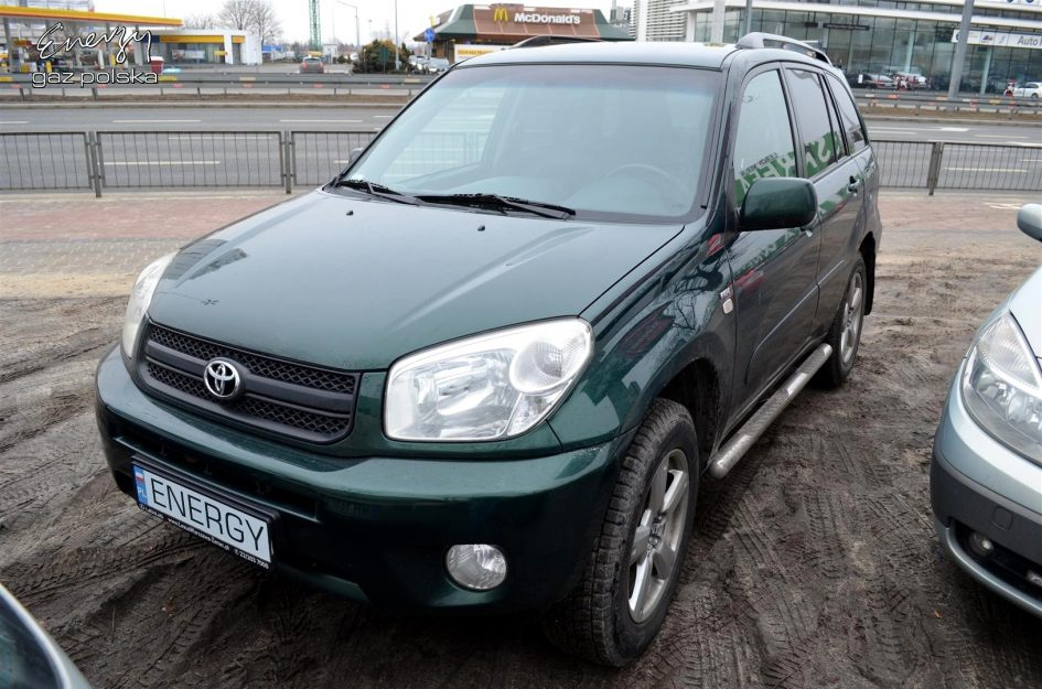Toyota Rav4 2.0 2004r LPG