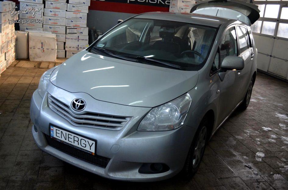 Toyota Verso 1.6 2012r LPG