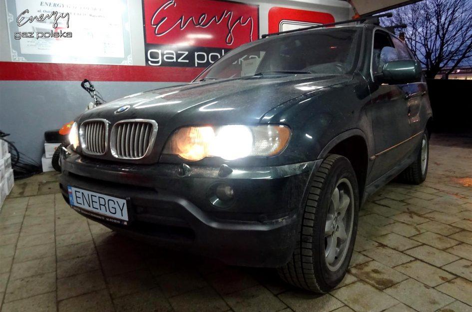 BMW X5 4.4 V8 2002r LPG