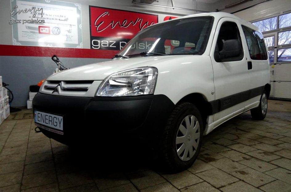 Citroen Berlingo 1.4 2008r LPG