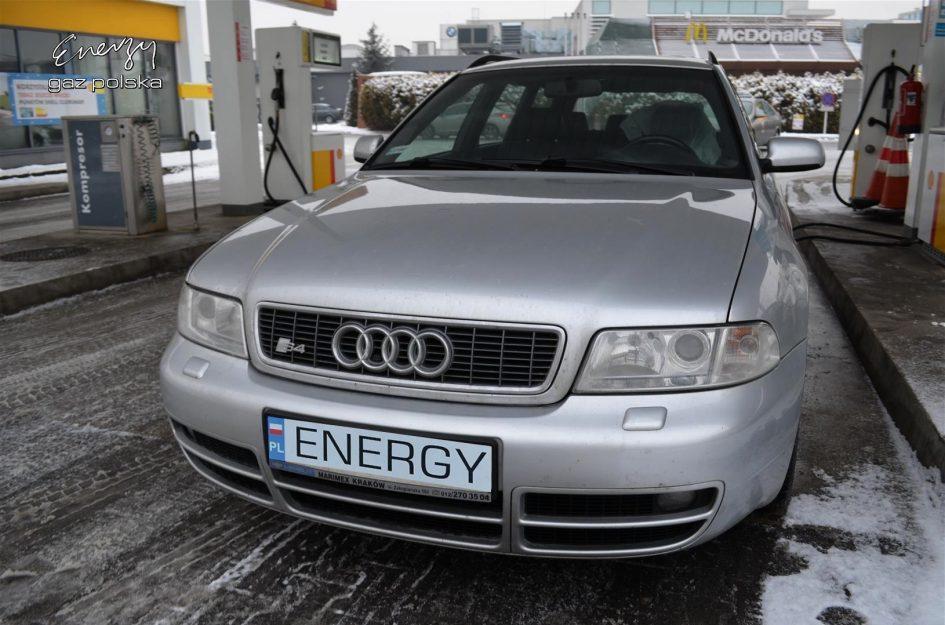 Audi S4 2.7T 2001r LPG