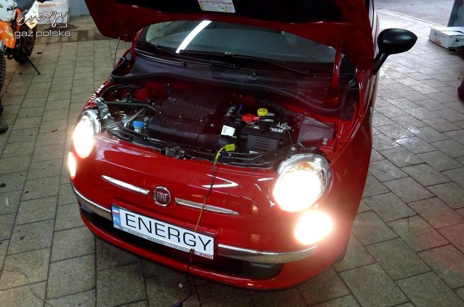 Fiat 500 1.2 2016r LPG