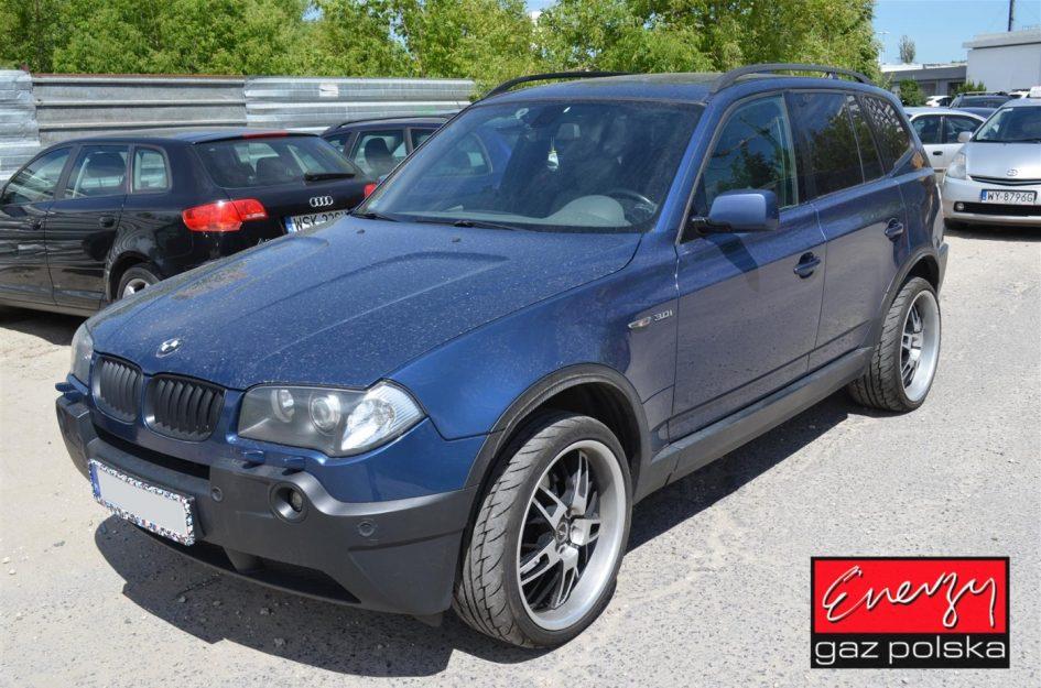 BMW X3 3.0 231KM 2004r LPG