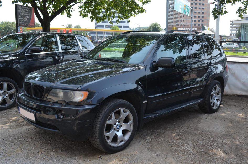 BMW X5 4.4 286KM 2002r LPG