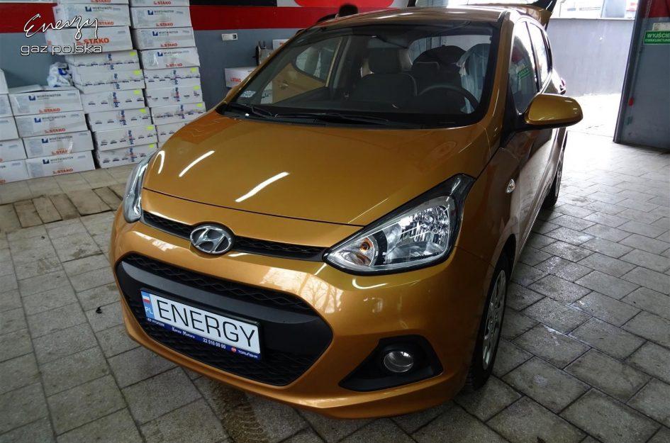 Hyundai i10 1.0 2014r LPG