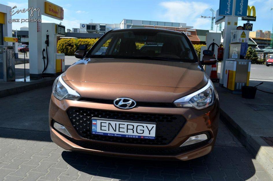 Hyundai i20 1.2 2015r LPG
