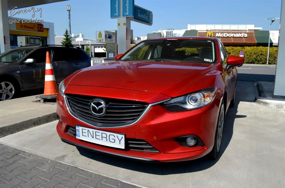Mazda 6 2.5 2014r LPG