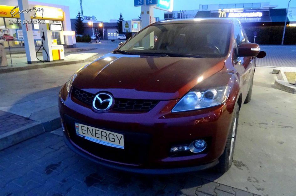 Mazda CX-7 2.3T 2007r LPG