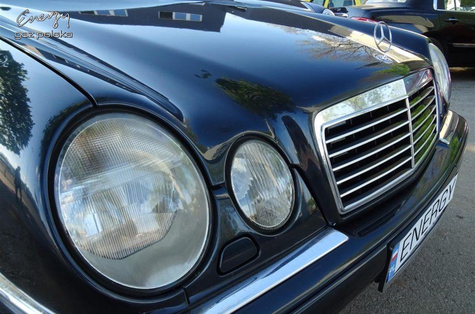 Mercedes E-klasa 2.8 V6 LPG