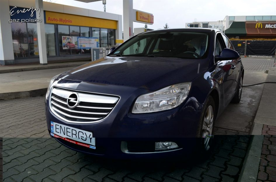 Opel Insignia 1.8 2011r LPG