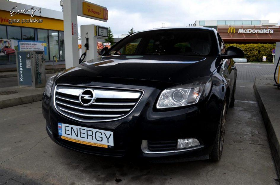 Opel Insignia 2.8T 2013r LPG