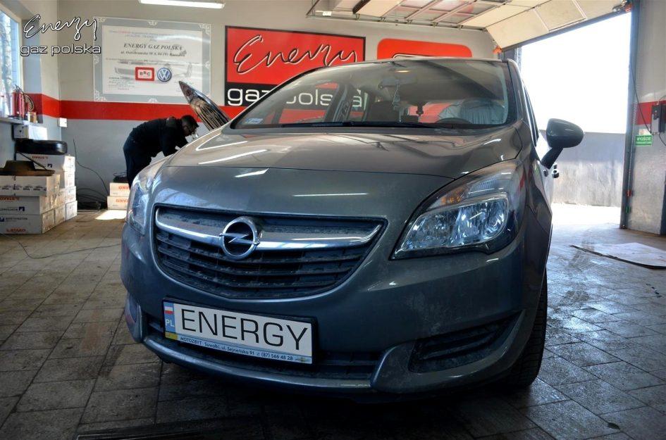 Opel Meriva 1.4 2014r LPG