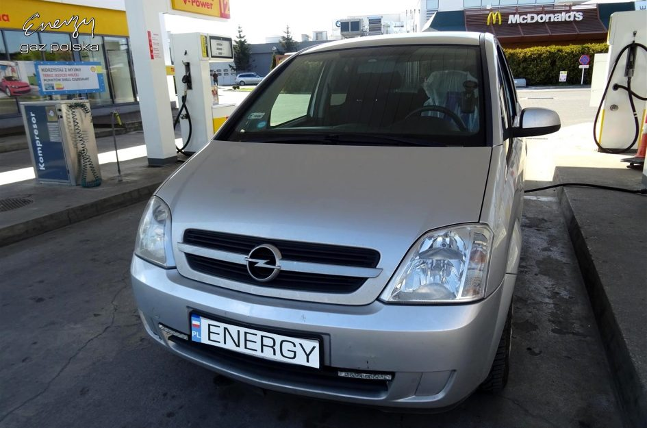 Opel Meriva 1.6 2005r LPG