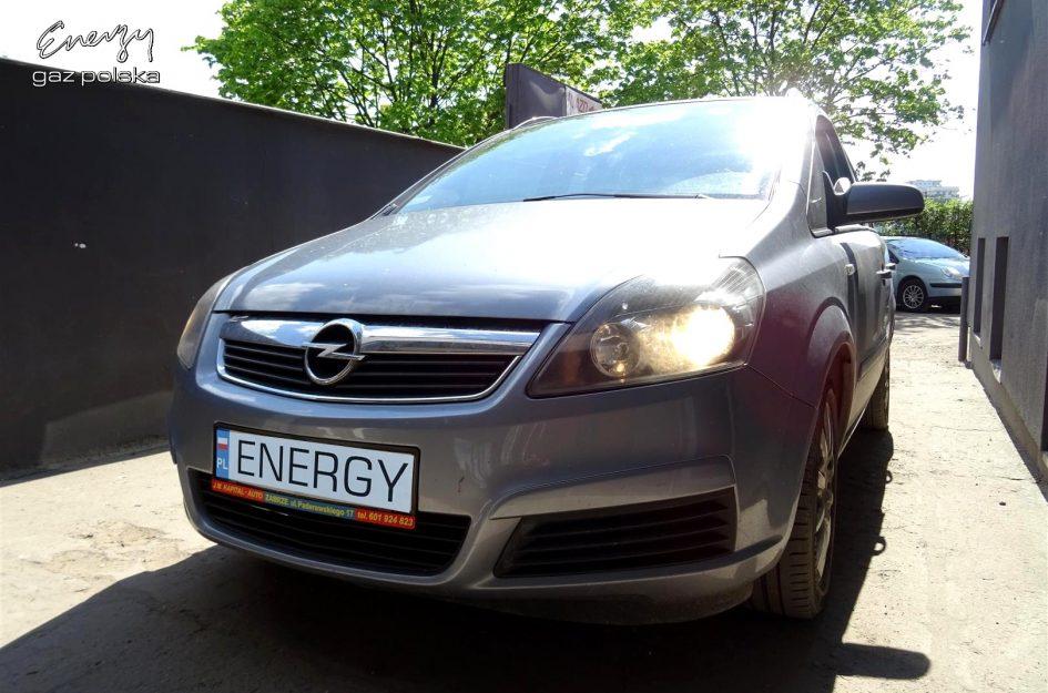 Opel Zafira 1.8 2006r LPG