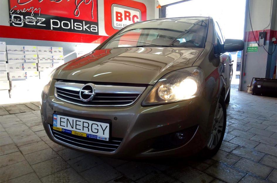 Opel Zafira 1.8 2014r LPG