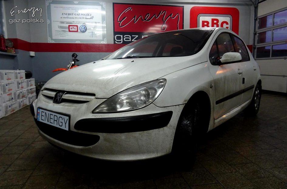 Peugeot 307 1.6 2001r LPG