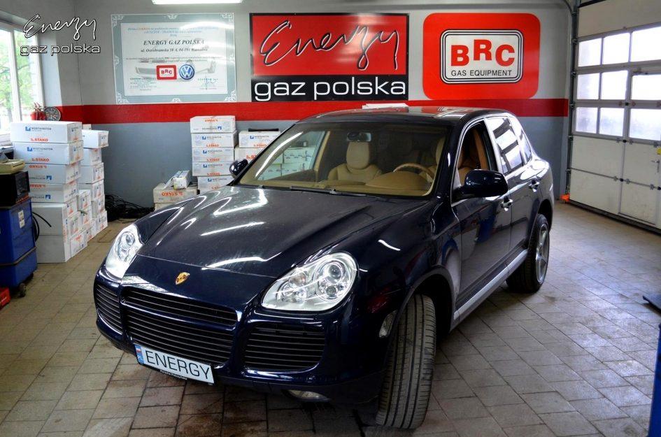 Porsche Cayenne 4.5T 2005r LPG
