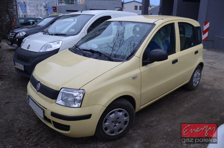 Fiat Panda 1.2 2011r LPG