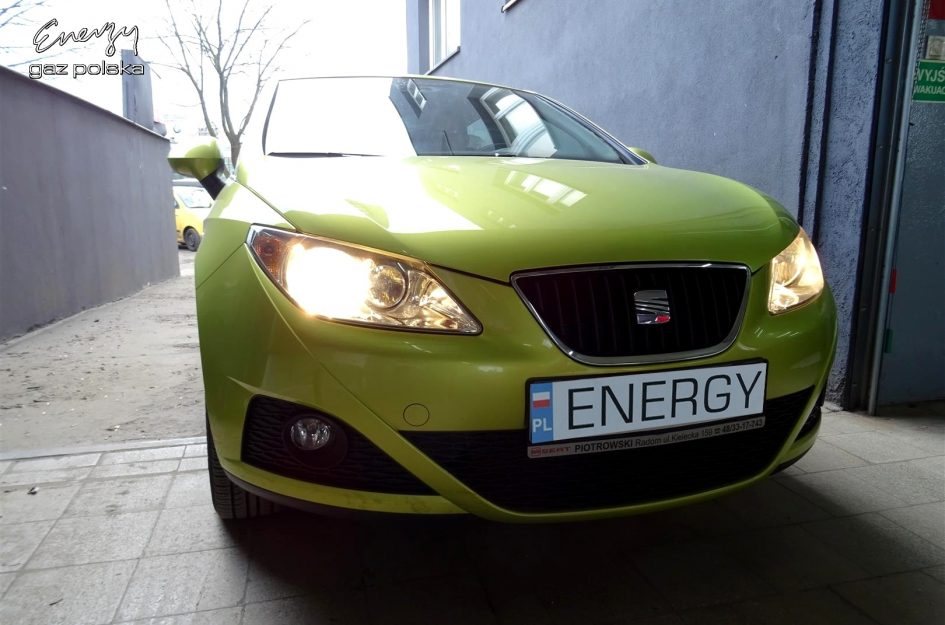 Seat Ibiza 1.4 2008r LPG