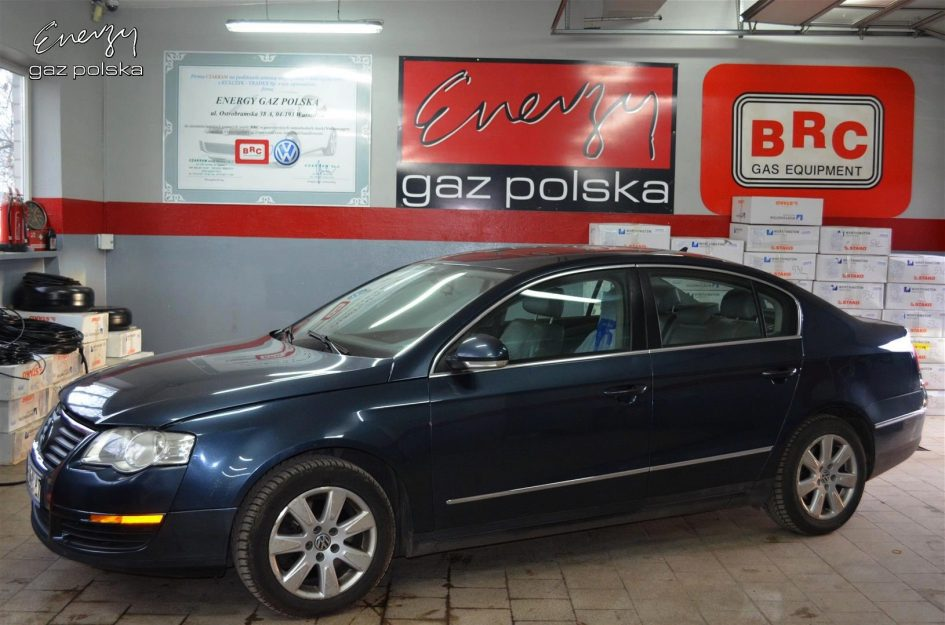 Volkswagen Passat 2.0 TFSI 2006r LPG