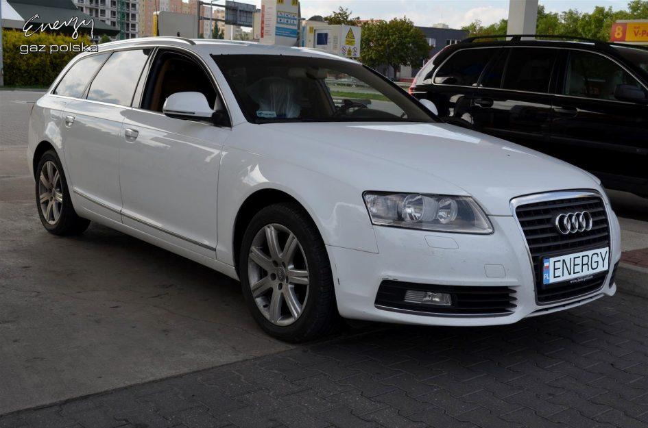 Audi A6 2.0 TFSI 2009r LPG
