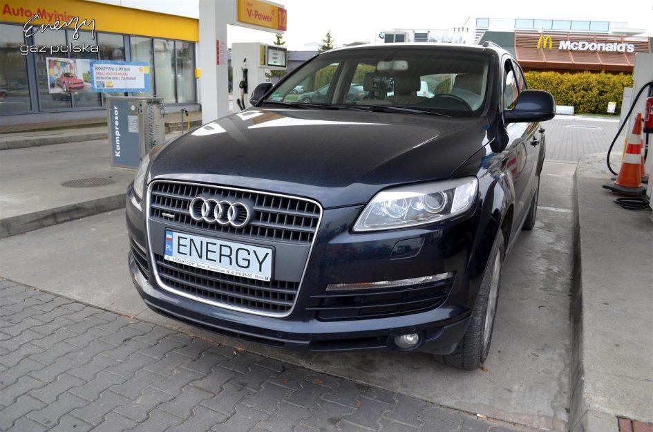 Audi Q7 3.6 2007r LPG