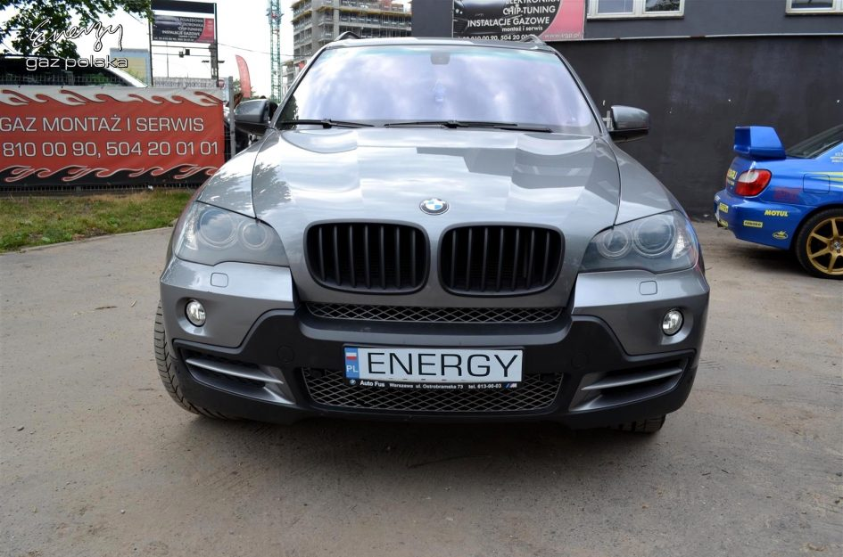 BMW X5 4.8 2007r LPG