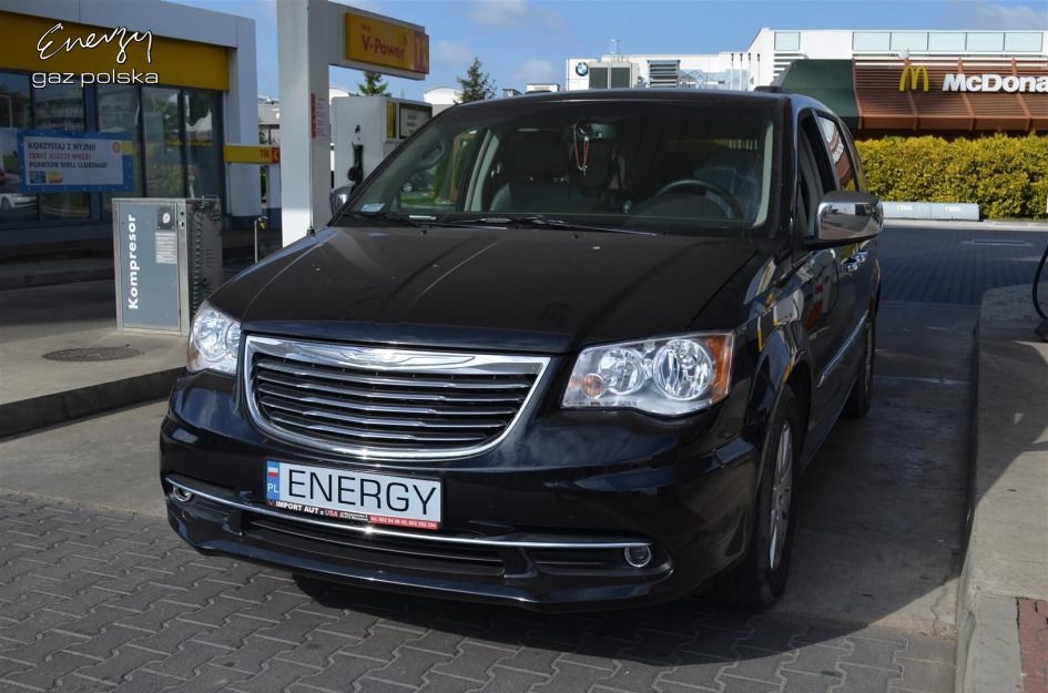Chrysler Town and Country 3.6 2013r LPG