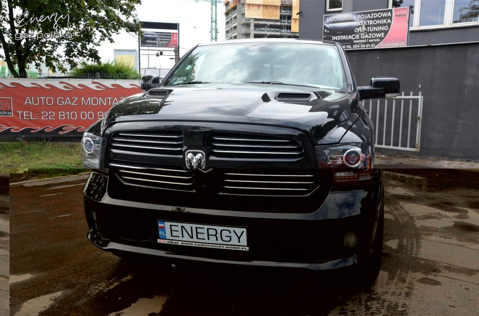 Dodge Ram 5.7 2014r LPG