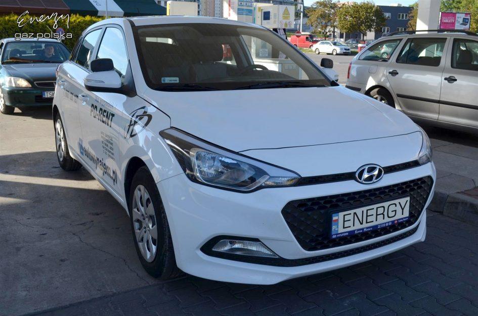 Hyundai i20 1.2 2016r LPG