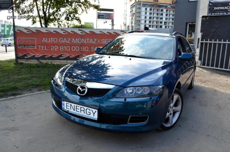 Mazda 6 2.3 2007r LPG