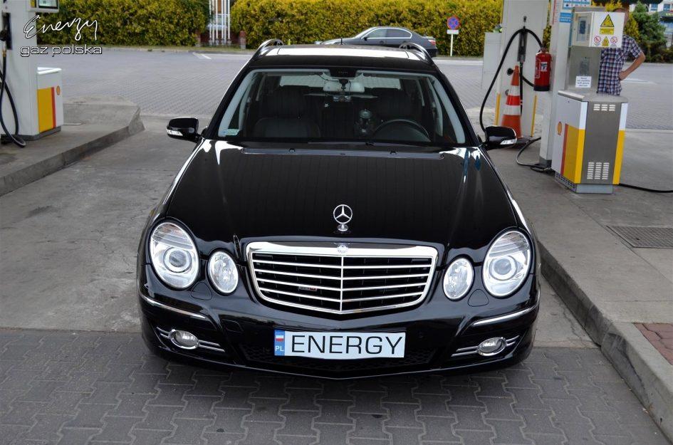Mercedes E500 5.5 V8 2006r LPG