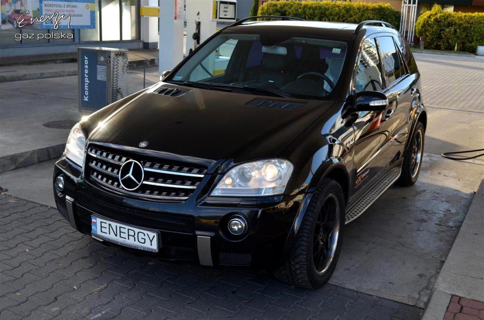 Mercedes ML63 6.2 2006r LPG