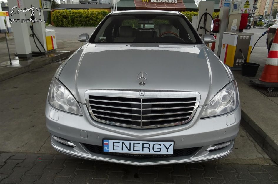 Mercedes S-Klasa 5.5 V8 2005r LPG