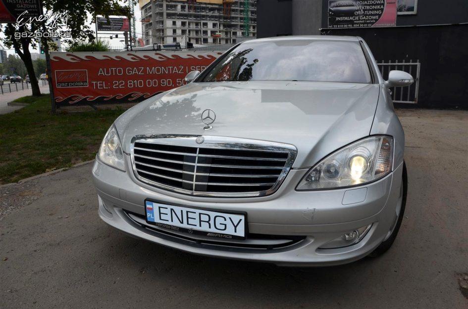 Mercedes W221 5.5 V8 2005r LPG