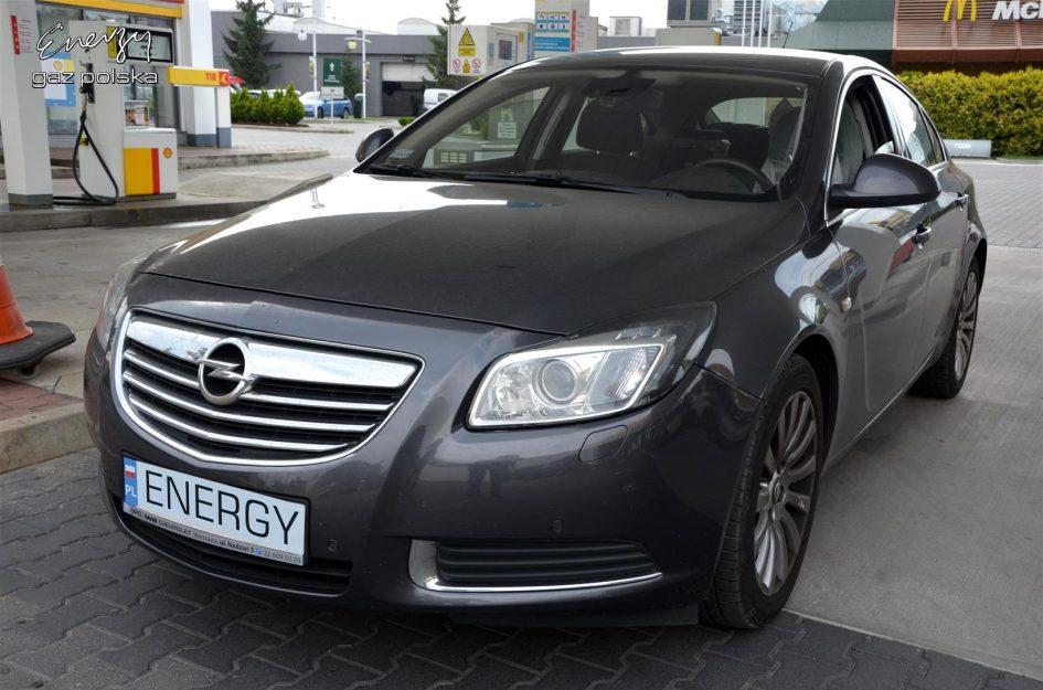 Opel Insignia 2.8T 2008r LPG