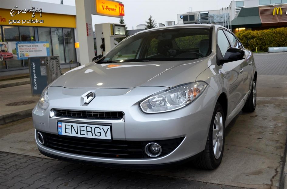 Renault Fluence 1.6 2012r LPG