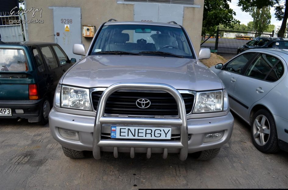 Toyota Land Cruiser 4.7 2001r LPG